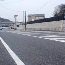 都市計画道路安浦下浦線の街路整備工事